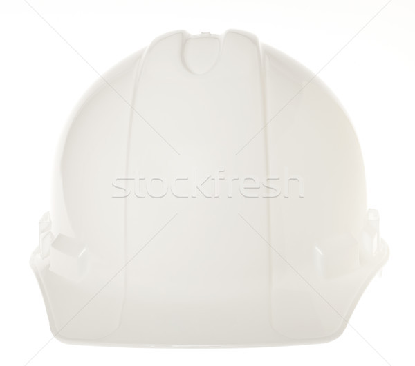 Isolated Hard Hat - Frontal White Stock photo © eldadcarin