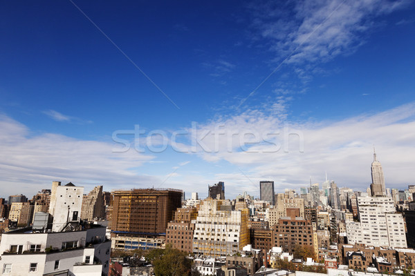 Meatpacking & Midtown Manhattan Skyline New-York Stock photo © eldadcarin
