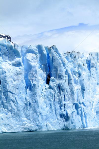 ледник утес Южной Америке небе воды природы Сток-фото © eldadcarin