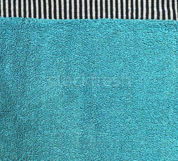 хлопка ткань текстуры черный белый Сток-фото © eldadcarin