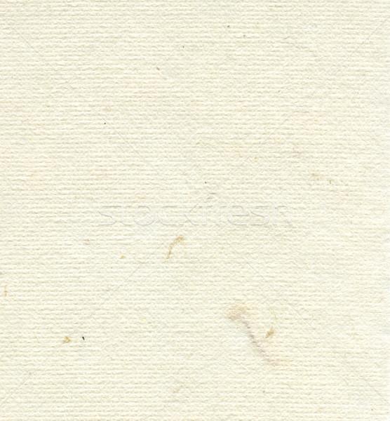 Rice Paper Texture - Cream White Stock photo © eldadcarin