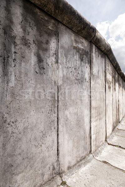 Берлин оригинальный стены широкоугольный аннотация Сток-фото © eldadcarin
