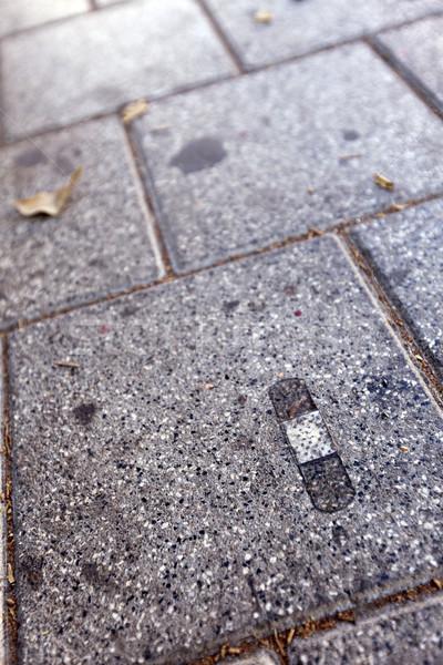 Band-Aid on Pavement Stock photo © eldadcarin