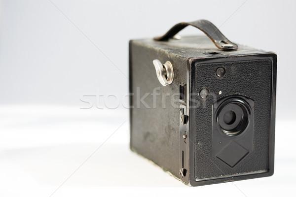 Vintage Pinhole Camera Stock photo © eldadcarin