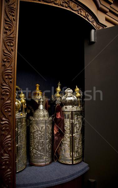 Torah Scrolls Cabinet Stock photo © eldadcarin