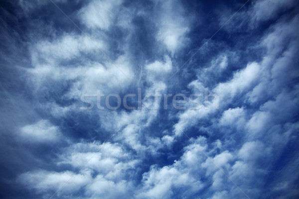 Cloudy Sky Stock photo © eldadcarin
