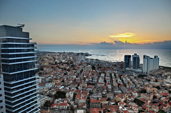 Stock photo: Tel-Aviv Sunset