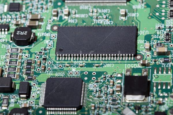 Harde schijf elektronische boord buitenkant elektronica computer Stockfoto © eldadcarin