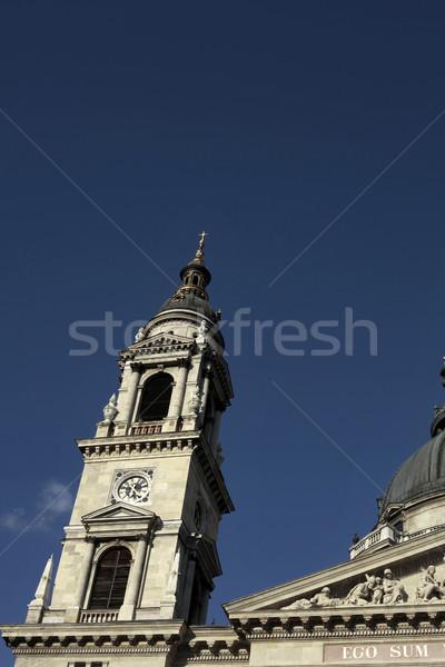 St. Stephen Basilica, Budapest, Hungary Stock photo © eldadcarin