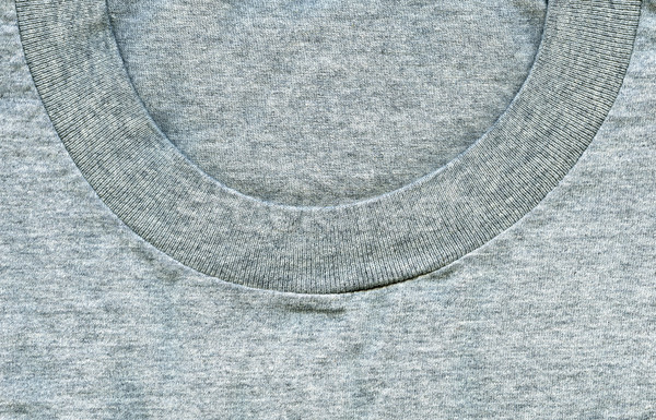 Cotton Fabric Texture - Gray with Colar Stock photo © eldadcarin