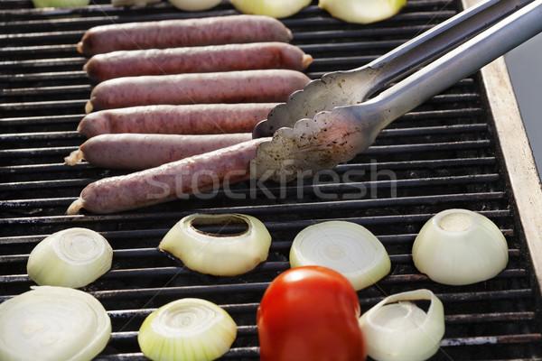 Lifting a Sausage Stock photo © eldadcarin
