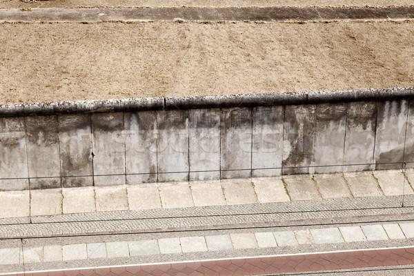 Berlim original fronteira seção abstrato Foto stock © eldadcarin