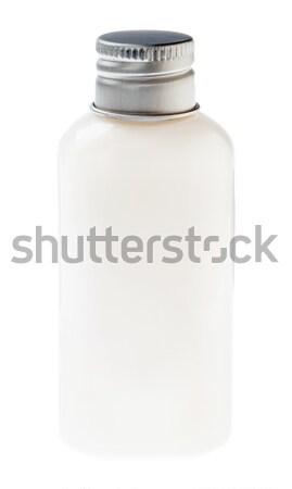 Isolated White Lotion Bottle Stock photo © eldadcarin