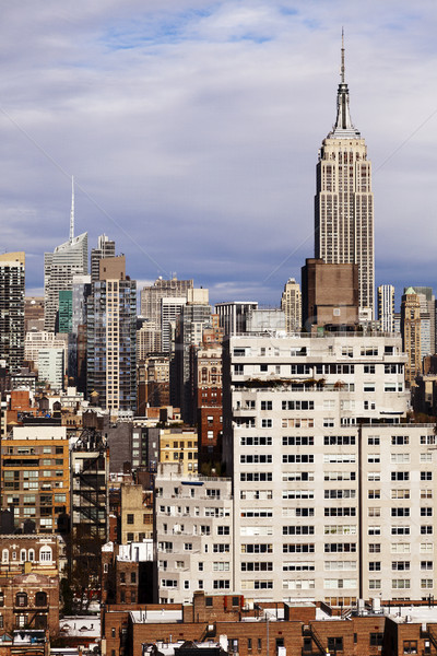 Empire State Building Midtown Manhattan Skyline New-York Stock photo © eldadcarin