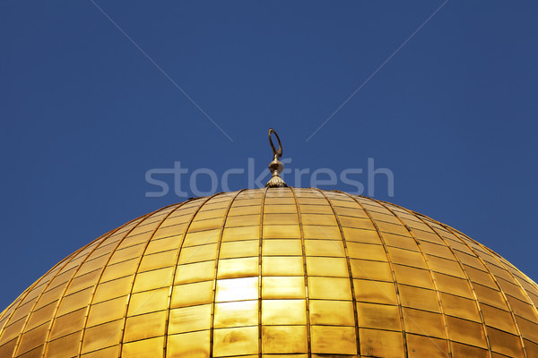 Dome of the Rock Detail Stock photo © eldadcarin