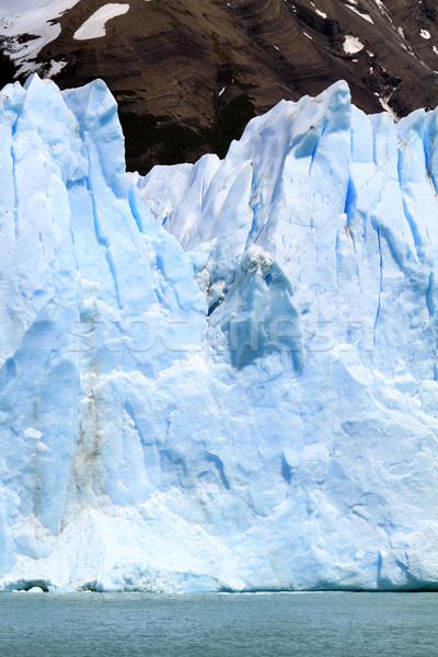 Foto d'archivio: Rupe · iceberg · sud · america · acqua · natura · mare