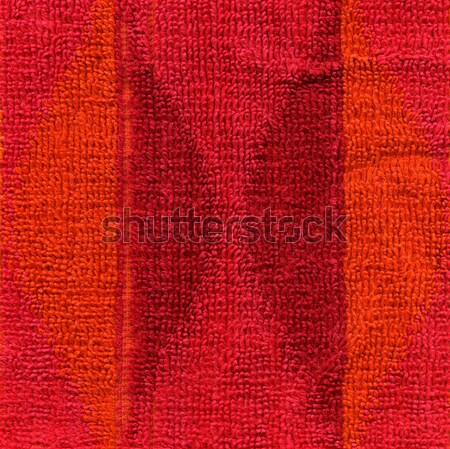 Towel Cloth Texture - Pink, Red & Orange Stock photo © eldadcarin