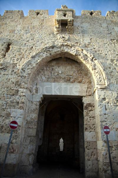Zion Gate Stock photo © eldadcarin