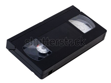 Blank VHS Videotape Stock photo © eldadcarin