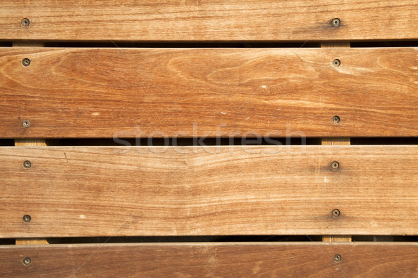 Frontal Wooden Deck Stock photo © eldadcarin