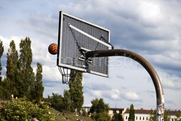 Basket & Ball at the Park Stock photo © eldadcarin