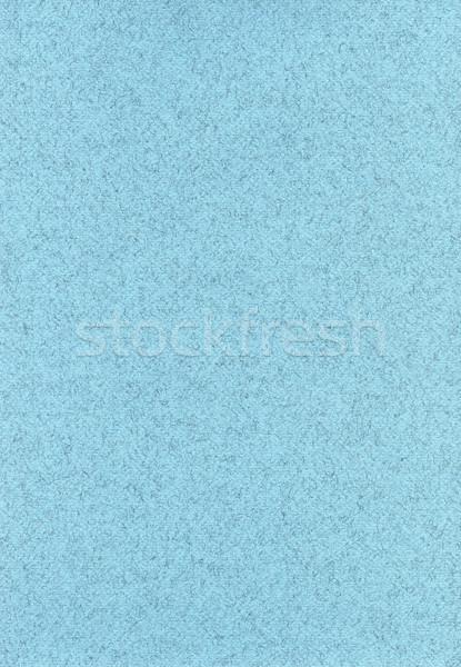 Stock photo: Fiber Paper Texture - Pastel Blue
