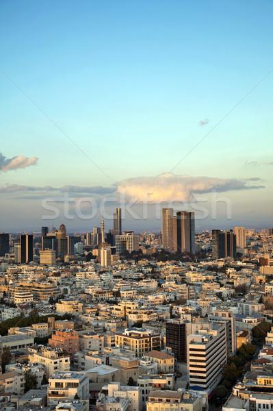 Downtown Tel-Aviv Skyline Stock photo © eldadcarin