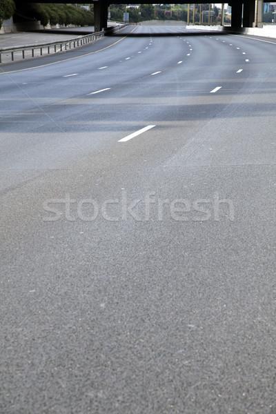 Empty Highway Stock photo © eldadcarin