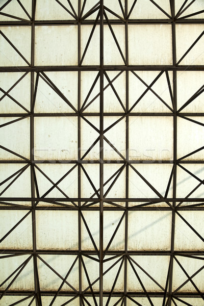 Metal & Glass Mesh Stock photo © eldadcarin
