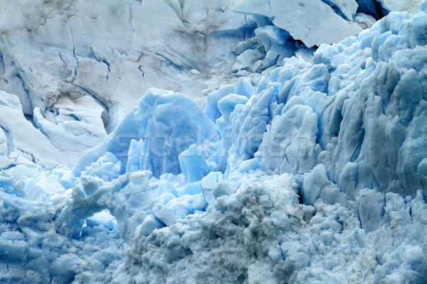 Gletsjer natuur witte koud amerika Stockfoto © eldadcarin