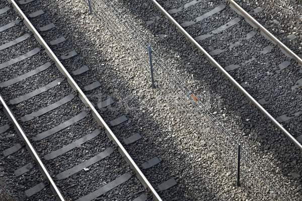 Diagonal Railroad Stock photo © eldadcarin