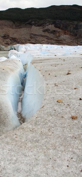 Gleccser patak dél-amerika természet hó föld Stock fotó © eldadcarin