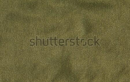 綿 ファブリック テクスチャ オリーブ 緑 高い ストックフォト © eldadcarin