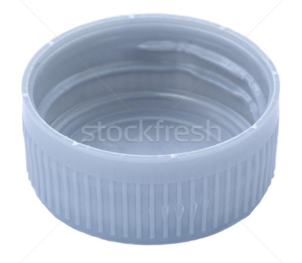 Isolated Silver Plastic Cap Stock photo © eldadcarin