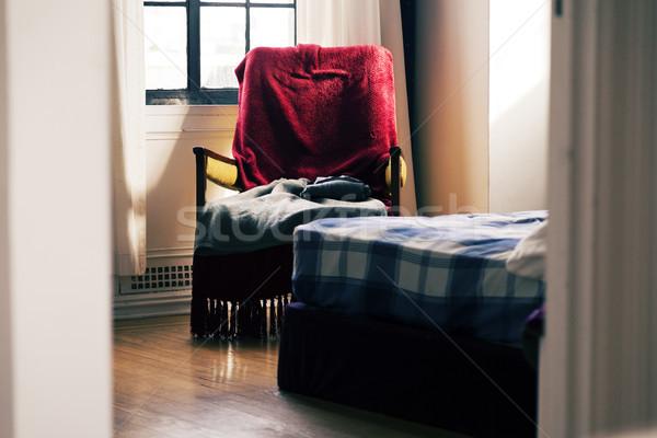 Glimpse into the Bedroom Stock photo © eldadcarin