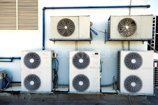 Rooftop Air Handling Units Stock photo © eldadcarin
