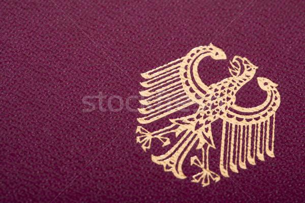 German Coat of Arms Stock photo © eldadcarin