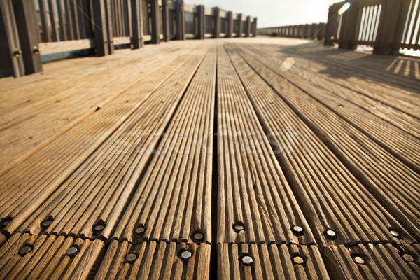 Deck Path Stock photo © eldadcarin