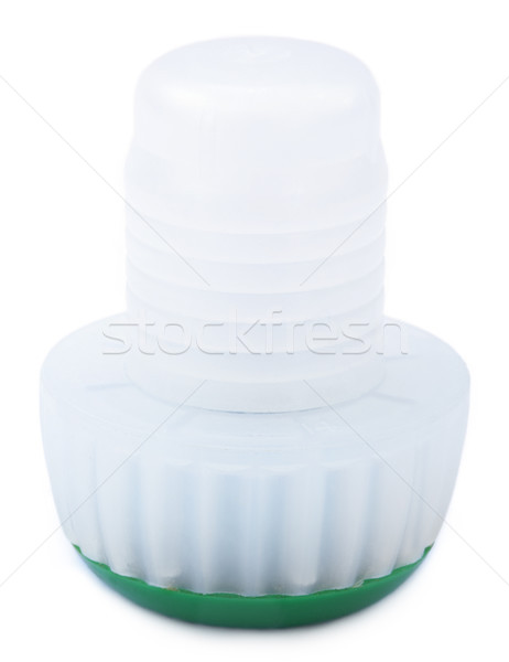 Isolated Champagne Plastic Cap Stock photo © eldadcarin