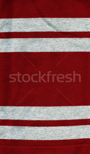 хлопка ткань текстуры красный серый Сток-фото © eldadcarin