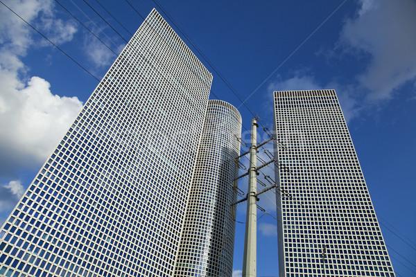 Iconic Skyscrapers Tel-Aviv Stock photo © eldadcarin