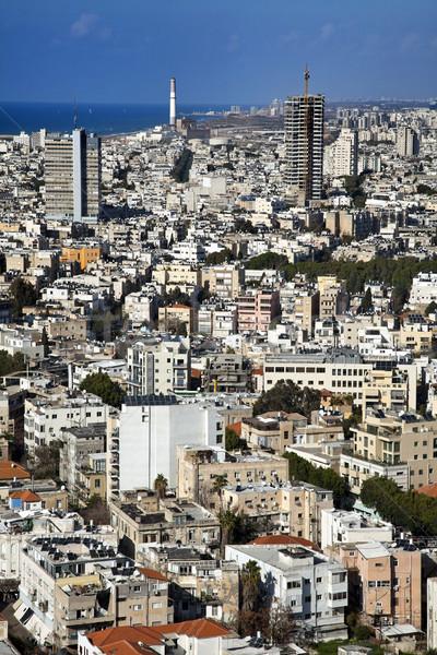 Cityscape widoku na północ metropolia Zdjęcia stock © eldadcarin