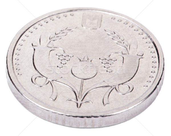 Isolated 2 Shekels - Heads High Angle Stock photo © eldadcarin