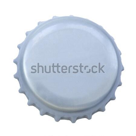Isolated Silver Metal Cap Stock photo © eldadcarin