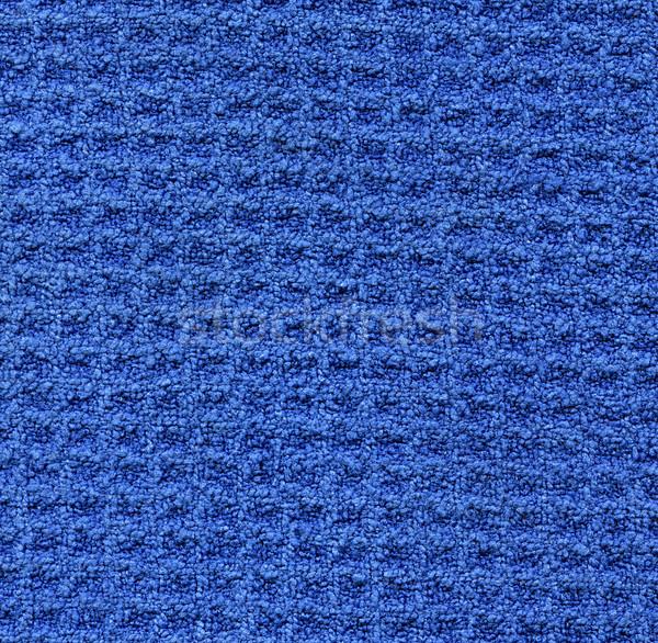 Microfiber Fabric Texture - Blue Stock photo © eldadcarin