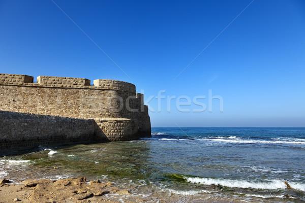 Stock photo: Acco's City Wall & Seashore