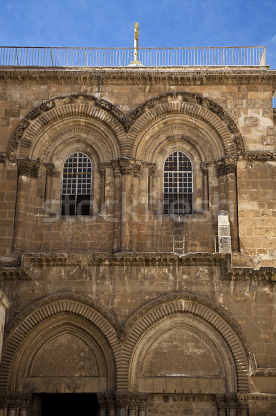 Stock photo: Church of the Holy Sepulchre Entrance