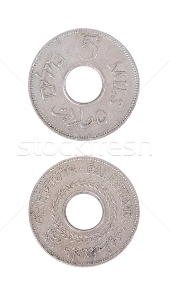 Izolált mindkettő klasszikus érme 1940-es évek érték Stock fotó © eldadcarin
