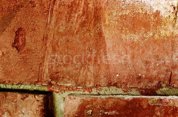 Macro Brick Stock photo © eldadcarin