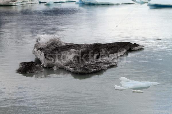 Gletsjer water wateroppervlak meer Stockfoto © eldadcarin